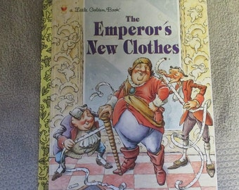 A Little Golden Book The Emperor's New Clothes