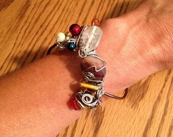 Beautiful Browns Adjustable Bracelet