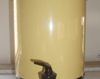 Vintage Yellow Electric Percolator by West Bend