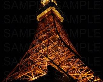Tokyo Tower from Below