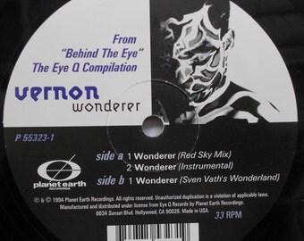"Vernon - Wonderer - 12"" single vinyl record"