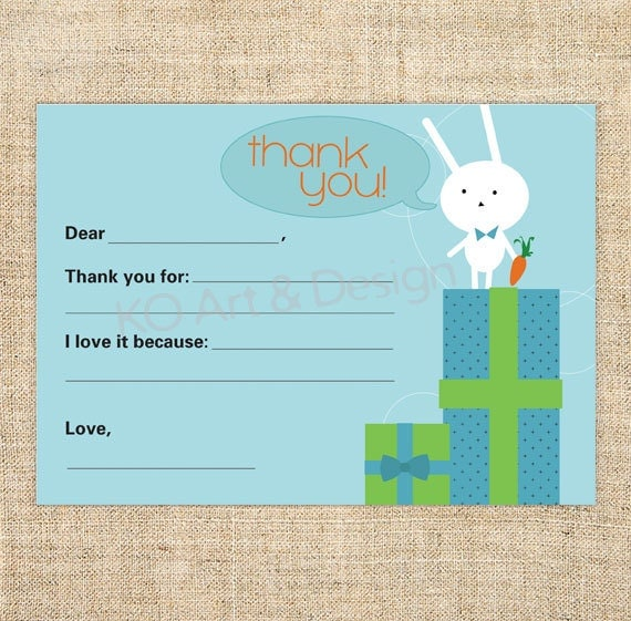 cute printable thank you note card template for boys and. Black Bedroom Furniture Sets. Home Design Ideas