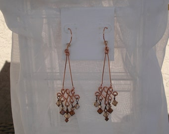 Swing into Autumn Chandelier Earrings