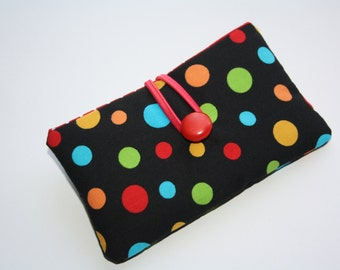 Colored dots, iPhone 6 Plus /6 sleeve, iphone 5c/5s, Iphone 5 Sleeve iPhone case iPhone cover iPod case iPhone Sleeve