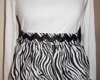 Zebra Half Apron