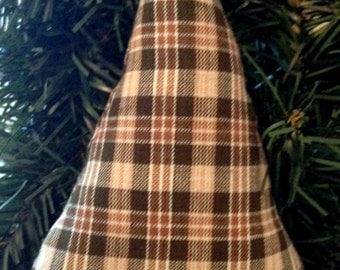 Primitive Christmas tree ornament, Primitive ornaments