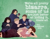 Breakfast Club Print