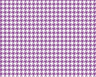 Purple houndstooth craft  vinyl sheet - HTV or Adhesive Vinyl -  Purple and white pattern vinyl  HTV422