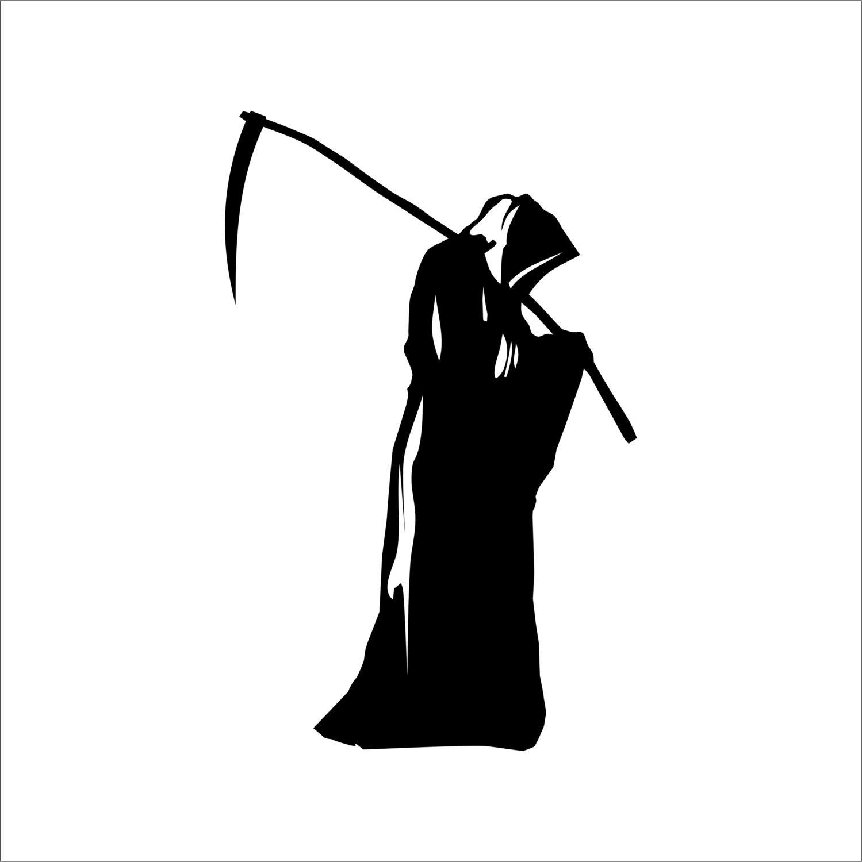 grim reaper die cut decal sticker car truck window lap top Free Vinyl Designs free clipart for vinyl cutting sewing