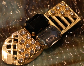 Excellent Vintage Bulatti Art Deco Brooch