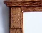 Large Oak Wall Mirror ~ W...