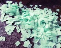 Mint Wedding Confetti / Tissue Paper / Biodegradable / Decorations / Bridal Shower Decor