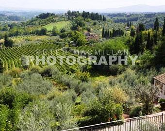 Spectacular Tower Views - San Gimignano Countryside - Tuscany - Italy