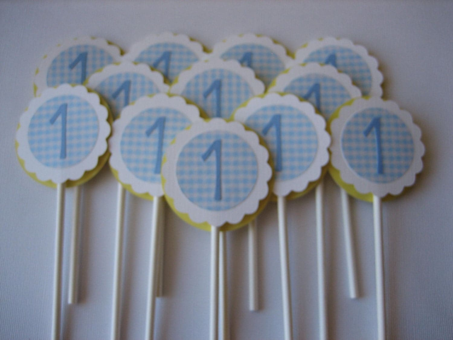 Cake Toppers For Baby Birthday : First Birthday Boy Cupcake Decorations ~ Image Inspiration ...