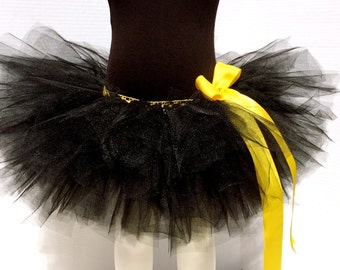 Black Tutu, Children's Superhero Tutu, Bat Tutu, Toddler Superhero Tutu
