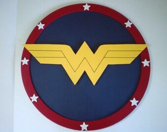 Wonder Woman Shield 3-D wall shield