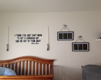 All 6 Star Wars Movies - Each Episode Opening Crawl Text for Nursery/Boys Nursery/Star Wars Nursery -  Set of 6  - 5x7s
