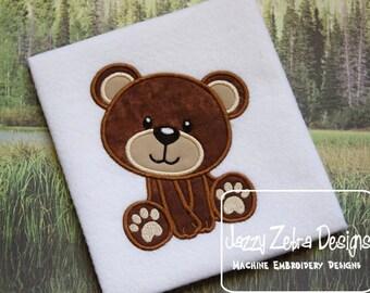 Bear 26 Applique Design