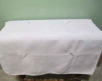 Vintage Cottage Chic Tablecloth