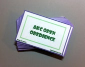 Complete AKC Open Obedience Task Card Pack Train 'Em Tasks - Pack of 37 cards - Performance Dog, Competitive dog training, dog obdience