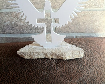 Metal Dove House Decoration