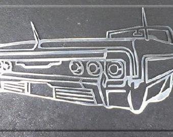 64 Impala Metal Art