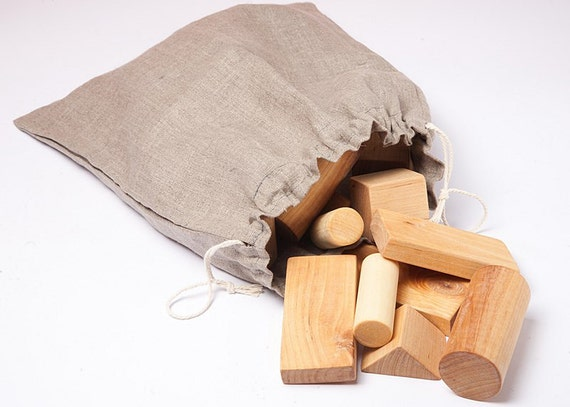 Handmade wooden blocks, eco friendly toys, children wooden toys.