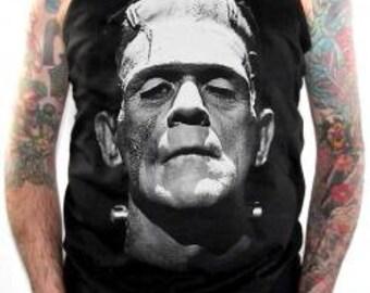 Movie T-Shirts - Frankenstein Tank Top - Bride Of Frankenstein