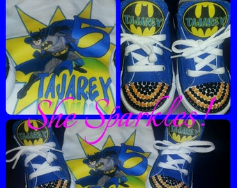 Superhero Shoes & Shirt