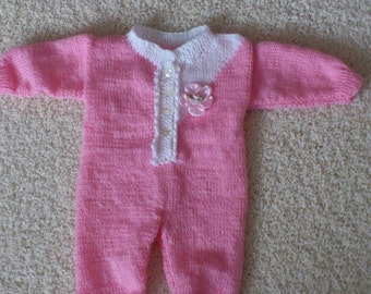 sweet knitted Jumpsuit For little princesses