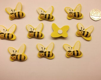 Wood Bumble Bees x 10