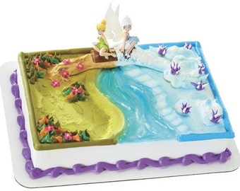 Tinkerbell And Periwinkle Cake Decorations