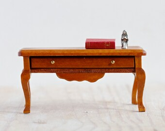 Vintage Miniature Table With Drawer Doll S House Furniture