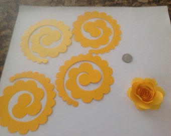100  sizzix die cut roses, need assembled.