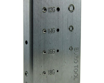 Steel Riveting Block by Eugenia Chan  (AN120)