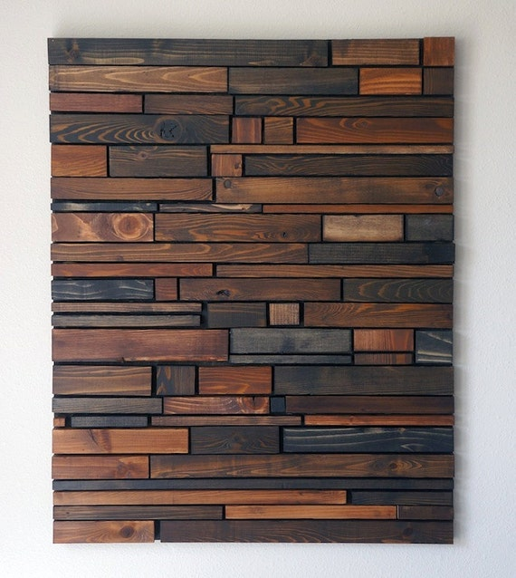 Wood wall art for Etsy dining room wall art
