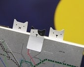 Sticky Note [ Cat ] / Note pad / Memo pad / Bookmark / Index sticky note