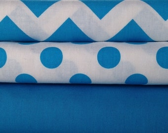 Solid Blue Neon Cotton Fabric by Riley Blake Designs 1/2 Yard 100% Designer Cotton Fabric C100-100 NEON BLUE