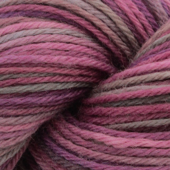 Knitting Joining Yarn Felting : Hand painted worsted weight wool yarn by