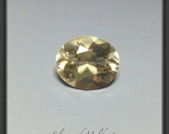 Citrine faceted gemstone 8.40ct