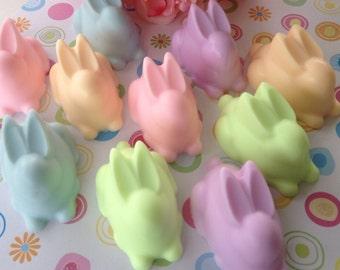 Easter Bunny Soap - Easter Soap - Kids Soap - Easter Basket Filler - Easter Gift - Bunny Favor - Pastel Soap - Spring Soap