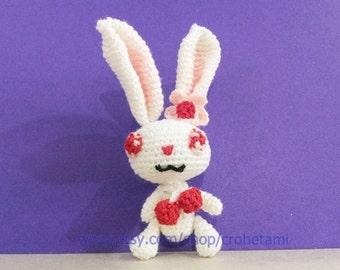 Ruby jewelpet doll - PDF amigurumi crochet pattern