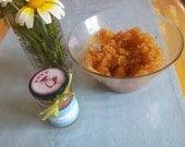 Facial Scrub with Honey and Himalyan Salts Απολεπιση προσωπου με Μελι και Αλατα Ιμαλαιων