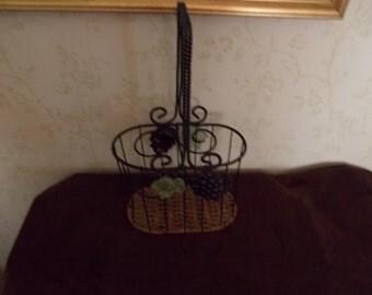 Dual Wire Wine Bottle Basket
