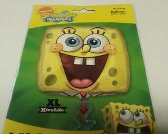 sponge bob balloon,Nickelodeon balloons, mylar balloon, birthday balloons, party supplies