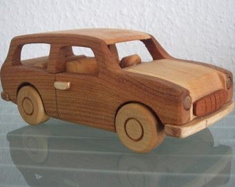 East German Trabant Trabant Kombi wood car model car very rare handmade