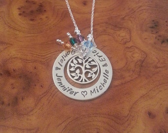 Sterling Silver Tree of Life Pendant, Family Pendant, Tree of Life Pendant, Family Tree Pendant, FREE SHIPPING!