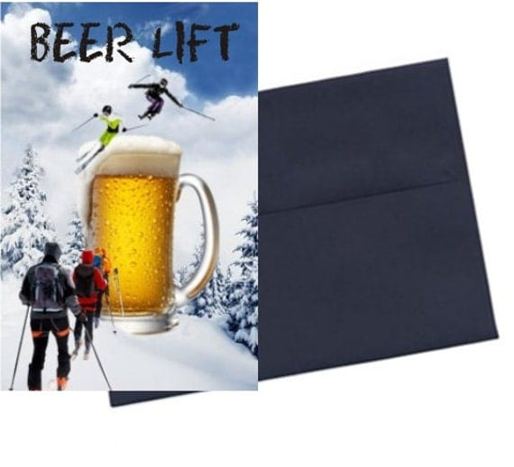 Funny Birthday Beer Card Beer Lover Card Alcohol By