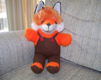 Vintage Toy Fox Carnival Prize Stuffed Animal
