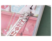 carousel Ruler Shaped Bookmark 3in1 Painting Fairy tales